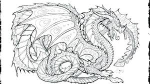 Coloring Pages Awesome Dragon Cool Printable Realistic Free Fire