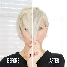 Shimmer Lights Shampoo Before And After Purple Shampoo Face Off Shimmer Lights Vs Blndn