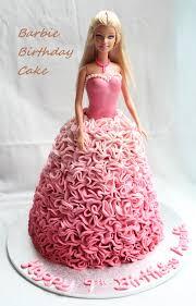 Honey Bee Sweets Barbie Birthday Cake