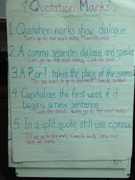 Dialogue Anchor Chart This Is A Great Anchor Chart For Teaching Fourth Graders