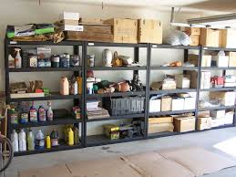 ... Storage Racks, Black Metal Garage Storage Racks Ideas: Captivating Garage  Storage Racks Design Racks, Best ...