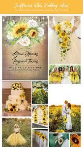 <b>White Rose</b> and <b>Sunflower</b> Rustic Fall Wedding Invitation   Zazzle.com