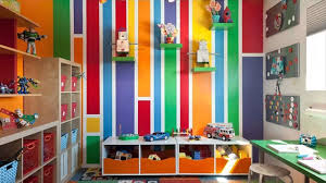 Kids Room Paint Colorful And Pattern Kids Room Paint Ideas Youtube