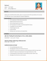 Biodata Job Application Job Resume 51 Free Download Biodata Format