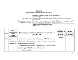 Закачать Отчет по производственной практике для гму Популярные видео запросы