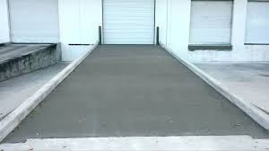 driveway ramp diy building a concrete completed project skate pour shed driveway ramp diy