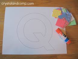Letter of Week Preschool Craft: Q is for Quilt
