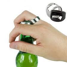 <b>1 PC</b> Ordinary Stainless Steel Finger Ring Bottle Opener <b>Bar Beer</b> ...