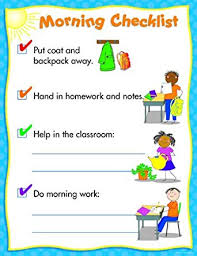Classroom Routine Chart Morning Routine Chart Themed Classroom Displays And