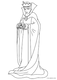 Download printable golden queen coloring page. Free Printable Snow White Coloring Pages For Kids