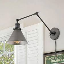 plug in sconces lighting the home