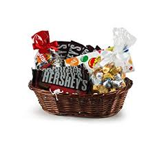 hershey s jelly belly 2 5 lb gift basket hershey kisses reese s peanut er cups