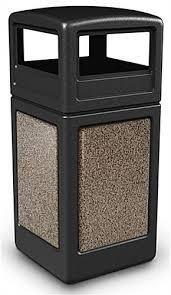 outdoor trash can. 42 Gallon Outdoor Garbage Can Trash