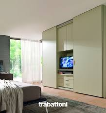 Design Of Master Bedroom Cabinet Tv Unit In The Bedroom Which Can Be Hidden By Wardrobe