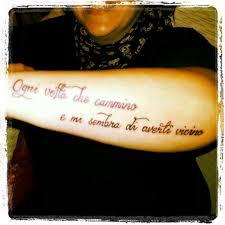 Scritte Tatuaggi Frasi In Corsivo Da Copiare Foto Nanopress Donna