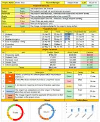 format of a management report weekly status report format excel free download project