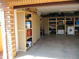 homemade garage storage ideas garage shelves with brick walls diffe types for garage shelves diy garage