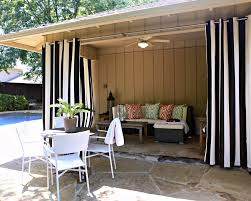 collection in black outdoor curtains ideas with outdoor curtains for patio black white stripe pattern patio