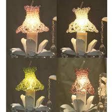 crystal lightbulb covers