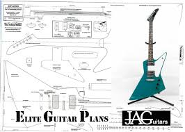plans to build a gibson explorer full sized