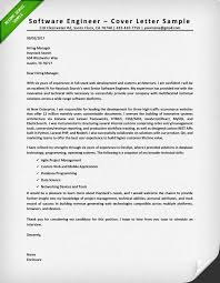 engineering cover letters cover letter software engineer cover letter sample cover letter