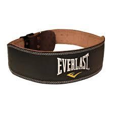 everlast leather weight belt 141009