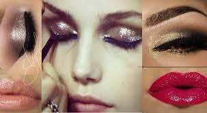 close up stylish s eyes makeup stani