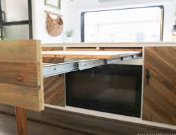space saving diy pull out table