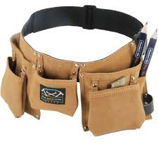 real leather kids tool belt gift set with a real tool belt just like dads moms or grandpas com