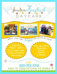 School Open House Flyer Template Free Publisher Child Care Design