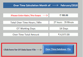 Time And Pay Calculator 5 Overtime Pay Rate Calculator Template For Employees