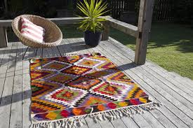 bohemian outdoor rug shapes