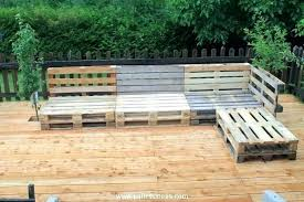 outdoor pallet deck furniture. Wooden Pallet Patio Furniture Interesting Inside O Plans Bench Homemade  Outside Ideas Images Garden Outdoor Seating Deck