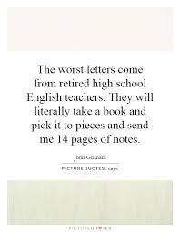 High School English Teacher Quotes - high school english teacher ... via Relatably.com