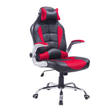 furniture gaming desk chair new hom racing style executive gaming office chair black and red