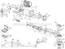dewalt d parts list and diagram type com