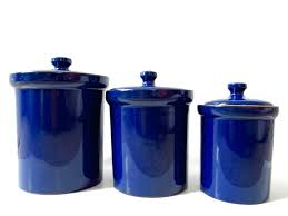 blue glass kitchen canisters large size of kitchen canisters cobalt