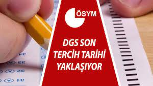 DGS tercihleri ne zaman bitiyor? 2021 Dikey Geçiş Sınavı (DGS) son tercih  tarihine dikkat! - Son Dakika Haber