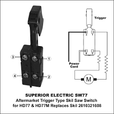 superior electric sw77 with trigger and power cord wiring diagram laptop power cord wiring diagram superior electric sw77 with trigger and power cord