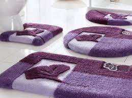 purple bath rugs