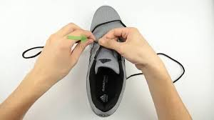 Nike Shoe Lace Chart How To Straight Lace Shoes With Pictures Wikihow