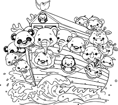 Small Picture nice Noahs Ark Cartoon Coloring Pages wecoloringpage