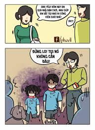 PHŨ [Truyện tranh] - Đen và gia đình (1)   Funny memes, Hài hước, Chuyện  cười