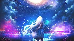 Galaxy Anime Art Wallpapers - Top Free ...