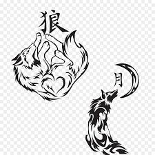 татуировки рисунок японский волк