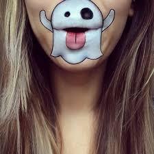 this emoji makeup is genius