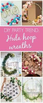 Ideas de adornos para cumpleaos con hula hoop - http://xn--