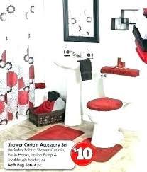 red bathroom rug rugs black set gorgeous ideas fresh design bath mat photo
