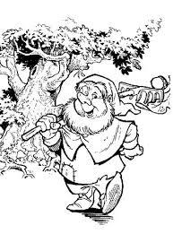 Kleurplaat Fairy Tree Sprookjesboom