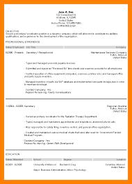 resume objective secretary secretary resume sample resume